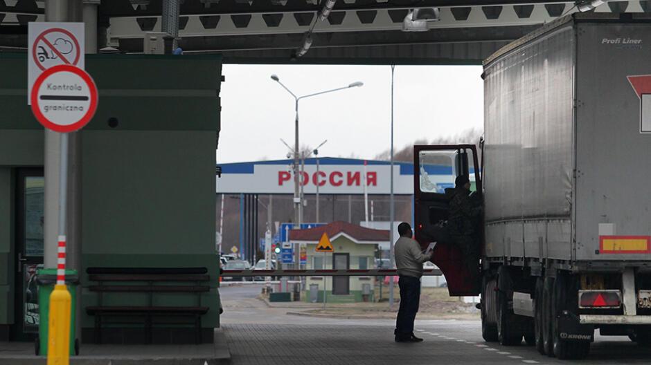 Budżet korzysta na zawieszeniu małego ruchu na granicy z Rosją