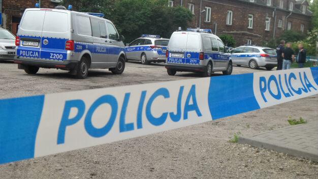 Atak w Wawrze. Ranny mężczyzna odwieziony do szpitala