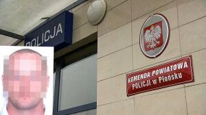 Zabójstwo 33-latka w Płońsku. Poszukiwany zgłosił się na policję