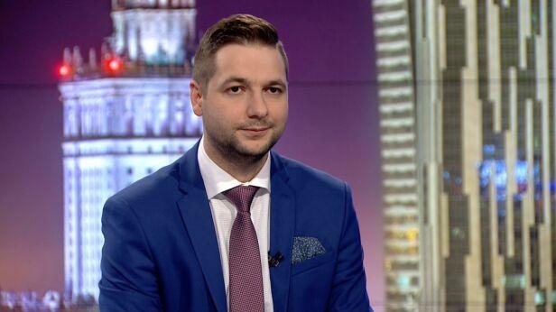 Patryk Jaki, wiceminister sprawiedliwości TVN24