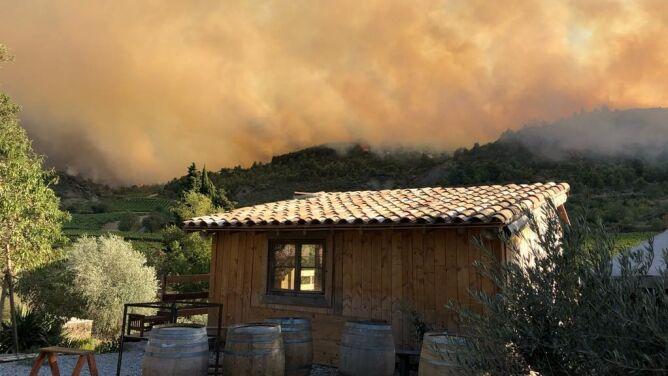 Pożary we Francji. Kilkuset strażaków walczy z płomieniami