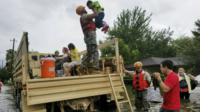 Relacja Polki z zalanego Houston: schroniliśmy się u znajomych, mieszkamy u nich do dziś