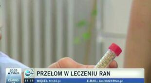 Nowoczesny len - przełom w leczeniu ran (materiał TVN24 z czerwca 2012 r.)