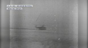 Leonow triumfalnie witany w Moskwie w 1965 roku